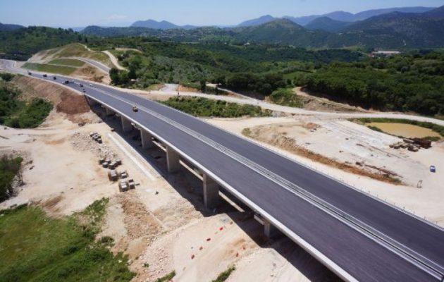 Παραδίδονται στην κυκλοφορία την Πέμπτη τα πρώτα 11 χλμ της Ιονίας Οδού