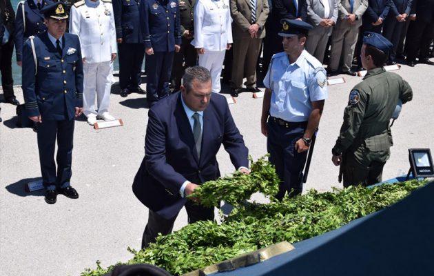 Ο Καμμένος στο μνημόσυνο του ήρωα Ηλιάκη: Ο τουρκικός στρατός είναι βάρβαρος (βίντεο)