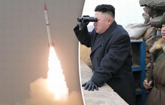 Πυραύλους «άγνωστου τύπου» εκτόξευσε η Βόρεια Κορέα
