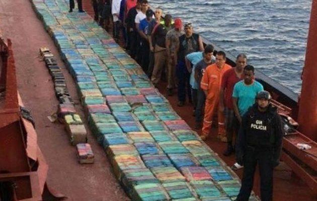 Κανάριες Νήσους: Έπιασαν το μεγαλύτερο φορτίο κοκαϊνης στην ιστορία