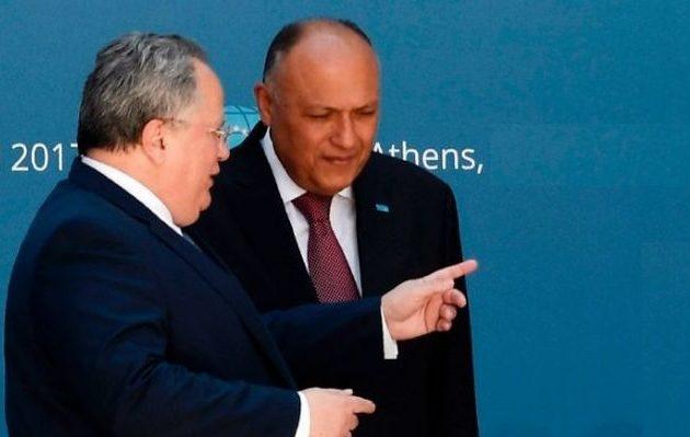 Αιγύπτιος ΥΠΕΞ: Ελλάδα και Αίγυπτος θα ορίσουμε ΑΟΖ και θα συνεργαστούμε στην ενέργεια