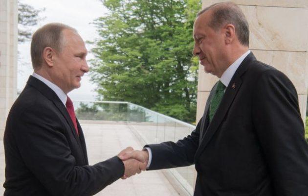 Ρωσία και Τουρκία θα υπογράψουν συμφωνία για τη δημιουργία ζώνης ελεύθερου εμπορίου