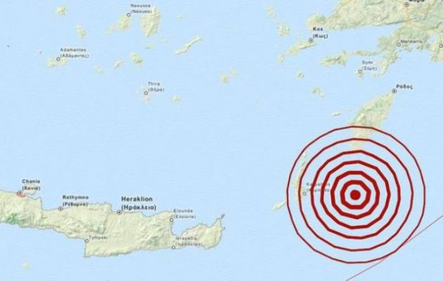 """Σεισμός 5,2 Ρίχτερ """"ταρακούνησε"""" τη Ρόδο – Τι λένε οι σεισμολόγοι"""