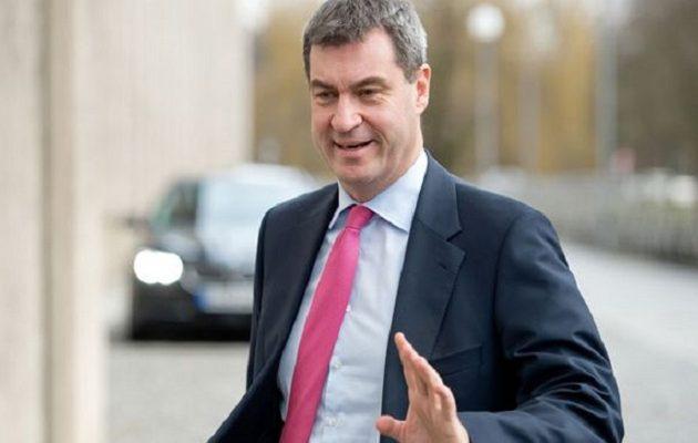 Βαυαρία: Ο Μάρκους Σέντερ επανεξελέγη με εντυπωσιακό ποσοστό στην ηγεσία του CSU