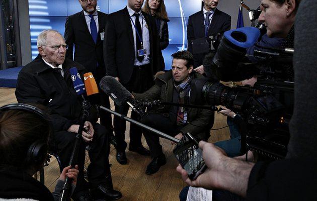 Φούρνος γκρεμίστηκε – Ο Σόιμπλε δε μιλά για Grexit: Σύντομα η Ελλάδα στις αγορές