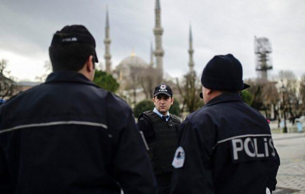 37.000 αστυνομικοί στην Κωνσταντινούπολη για την Πρωτοχρονιά – Υπερδιπλάσιοι από πέρυσι