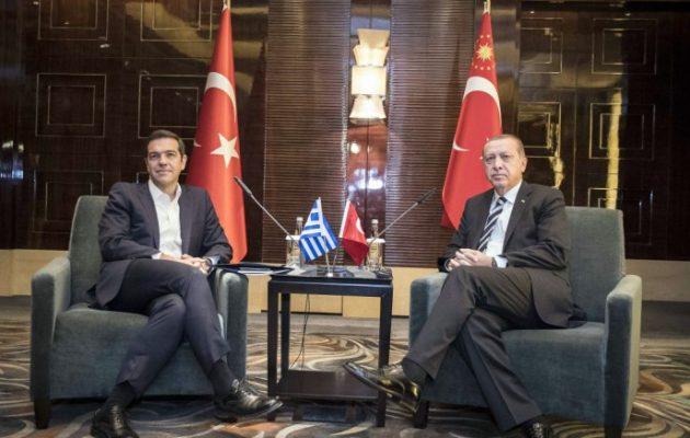 Αποκαλύπτουμε τι ειπώθηκε μεταξύ Τσίπρα-Ερντογάν για τη Συνθήκη της Λωζάνης