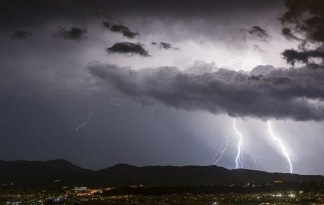 Οι μετεωρολόγοι προειδοποιούν για επιδείνωση του καιρού – Πού θα «χτυπήσει» η κακοκαιρία