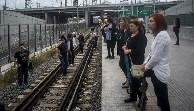 Εκρηκτικό κλίμα στο Μενίδι: Κάτοικοι απέκλεισαν τον σιδηροδρομικό σταθμό – Πέφτουν μολότοφ