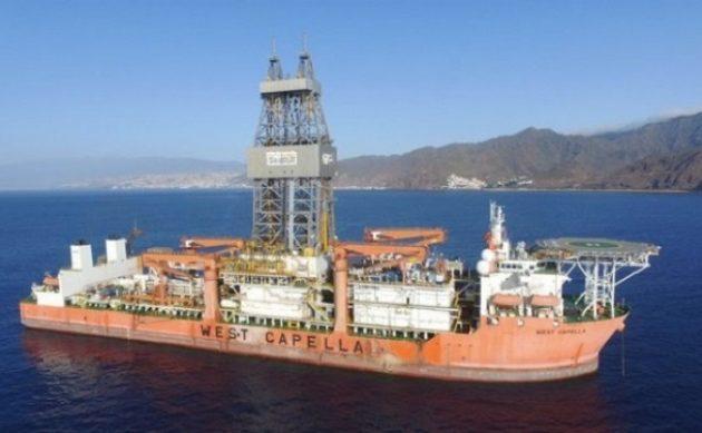 Πλέει προς την Κυπριακή ΑΟΖ το γεωτρύπανο West Capella για γεωτρήσεις στο οικόπεδο 11
