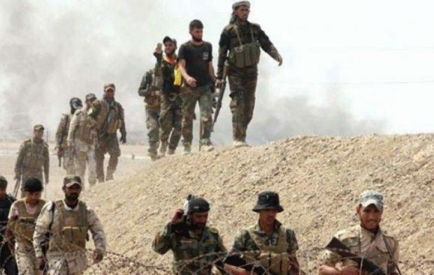 Ιρακινές παραστρατιωτικές μονάδες εισήλθαν στη βορειοανατολική Συρία