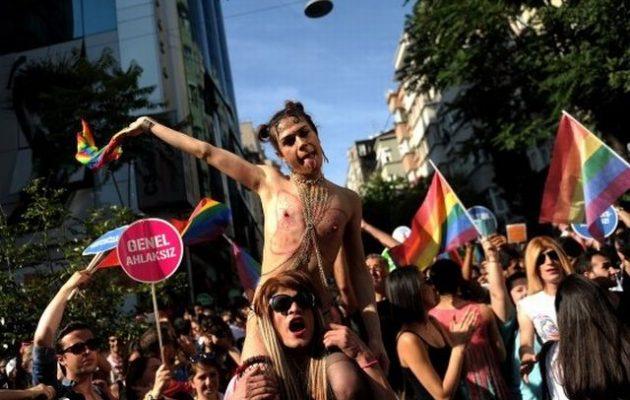 Απαγορεύτηκε το Gay Pride στην Κωνσταντινούπολη