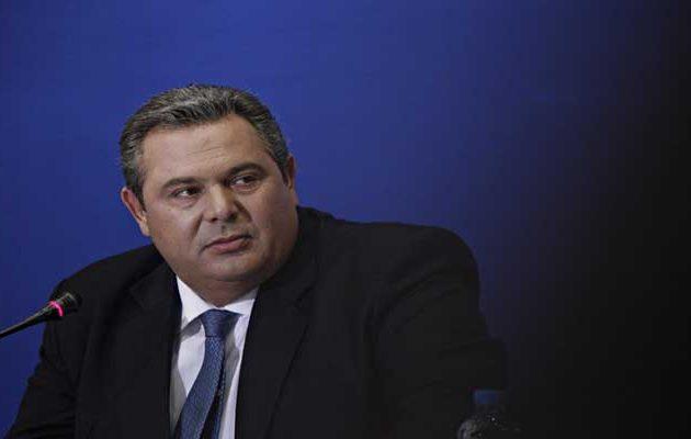 Ο Καμμένος εκθέτει ΝΔ για Σκοπιανό: Χαίρομαι που μού εναποθέτει τις ευθύνες της παράταξης
