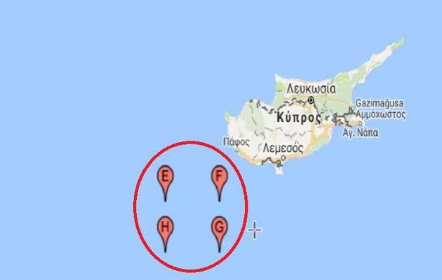 Ο Ερντογάν στέλνει πολεμικά πλοία στην ΑΟΖ νότια της Κύπρου στις 28 Ιουνίου – Σε επιφυλακή το ελληνικό έθνος