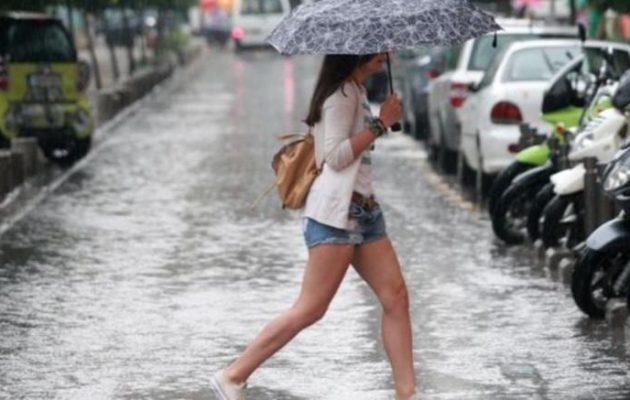 Ο «κακός μας ο καιρός» τη Δευτέρα – Πόσο θα διαρκέσει