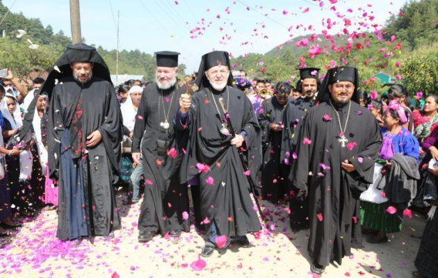 Στη Γουατεμάλα οι Ινδιάνοι βαφτίζονται Ορθόδοξοι και μαθαίνουν ελληνικά (φωτο)