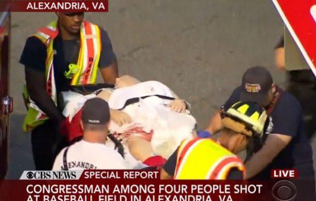 ΗΠΑ: Πυροβολισμοί εναντίον μελών του Κογκρέσου – Τραυματίας ο Πρόεδρος (βίντεο)