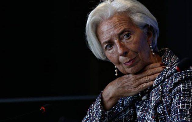 Λαγκάρντ: Η ΕΚΤ αναλαμβάνει δράση για να σωθεί η ευρωπαϊκή οικονομία