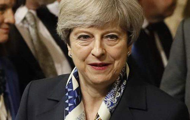 Μέι: Οι επιδρομές στη Συρία ήταν προς το συμφέρον της Βρετανίας