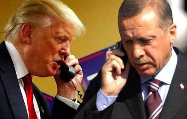 Tι συζήτησαν στο τηλέφωνο Τραμπ και Ερντογάν για τη Συρία