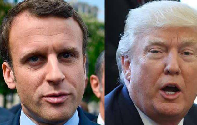 Τραμπ κατά Μακρόν: Οι Γάλλοι μάθαιναν γερμανικά στο Παρίσι πριν τους σώσουν οι ΗΠΑ