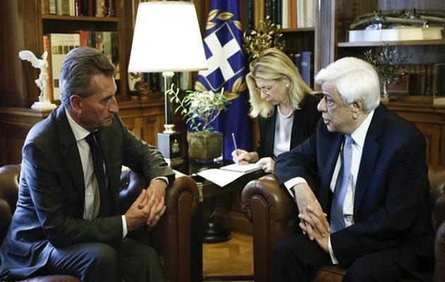 Παυλόπουλος: Οι ένοπλες δυνάμεις στο Αιγαίο θωρακίζουν και τα ευρωπαϊκά σύνορα