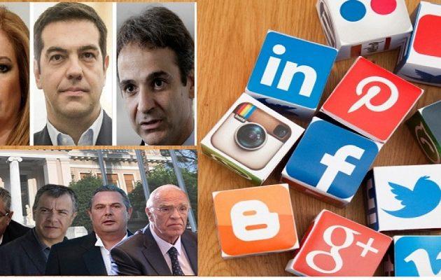 Ποιος είναι ο πιο δημοφιλής Έλληνας πολιτικός στα social media – Tι έδειξε έρευνα