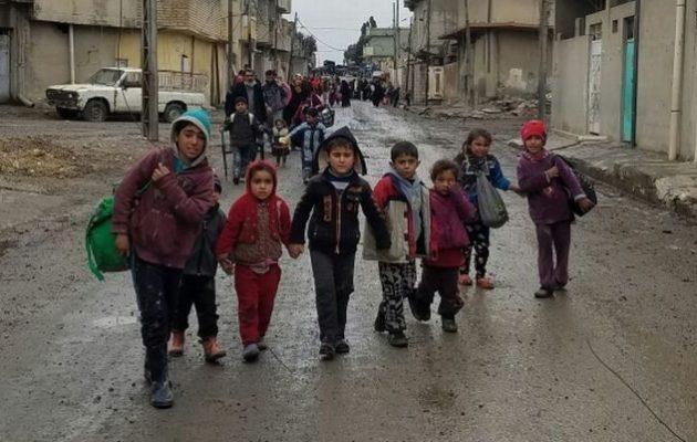 Ιράκ: Σε ορφανοτροφεία τα παιδιά των τζιχαντιστών – Για ιδεολογική αναμόρφωση οι συγγενείς τους