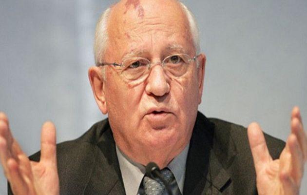 Τι είπε ο Γκορμπατσόφ για την απόφαση Πούτιν να είναι πάλι υποψήφιος πρόεδρος
