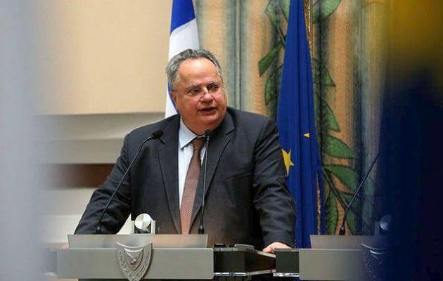 Νίκος Κοτζιάς: Υλικά συμφέροντα που συνθέτουν κύκλωμα θέλουν να δώσουμε την Κύπρο στους Τούρκους