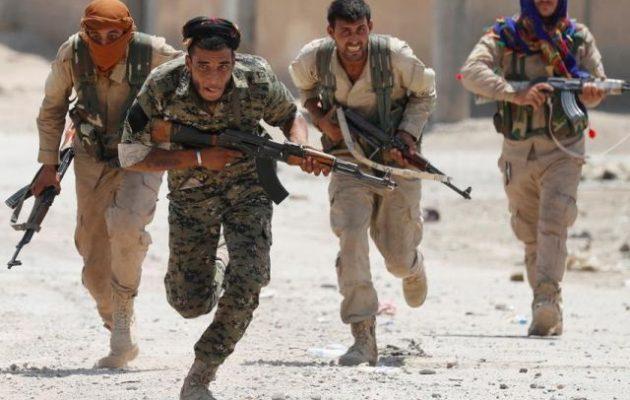 Νεκροί 79 Κούρδοι στρατιώτες και 49 τζιχαντιστές μισθοφόροι της Τουρκίας