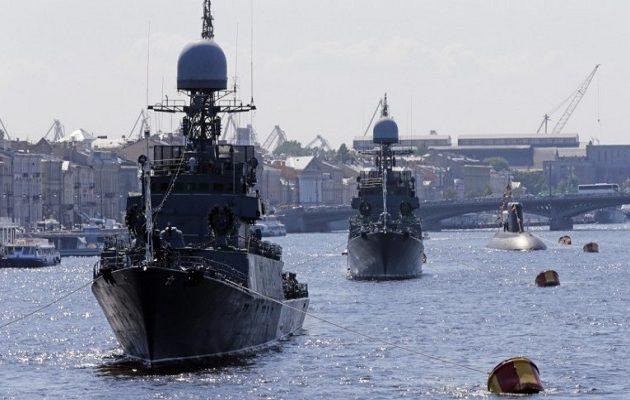 Σε εξέλιξη η  πρώτη στην ιστορία ρωσοκινεζική ναυτική άσκηση στη Βαλτική