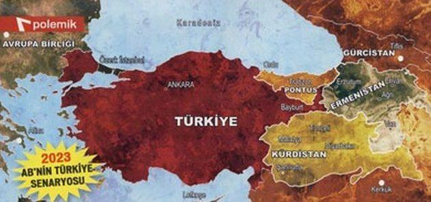 Αυτοί είναι οι τρεις χάρτες διαμελισμού της Τουρκίας μέχρι το 2023 – Δεν είναι θεωρίες συνωμοσίας