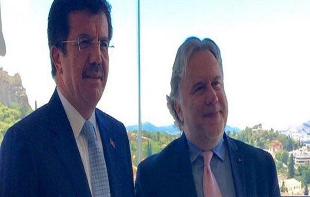 Στην Αθήνα ο Τούρκος υπ. Οικονομίας – Τι συζήτησε με Κατρούγκαλο και Παπαδημητρίου