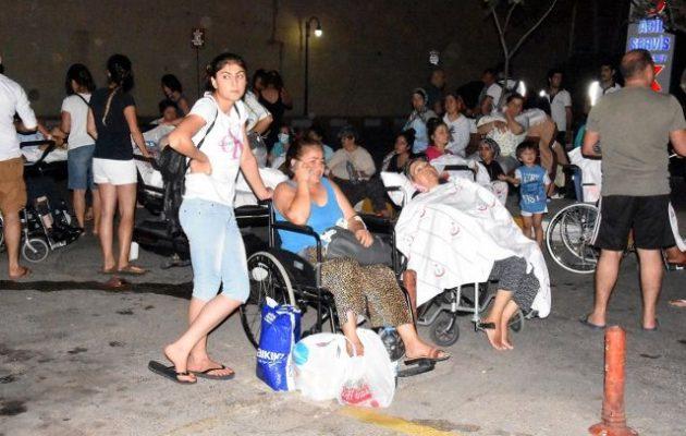 Σεισμός Κως: Τρελάθηκαν οι Τούρκοι και πήδαγαν από τα παράθυρα – 100 τραυματίες