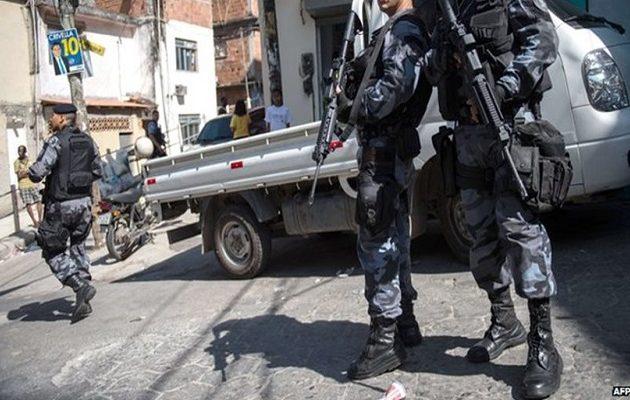 Βραζιλία: Σκοτώθηκε αστυνομικός από νέα επίθεση ενόπλων στο Ρίο ντε Τζανέιρο