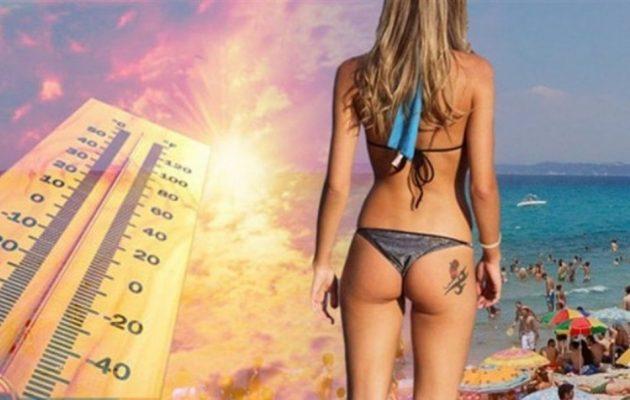 «Κάηκε» η χώρα: Τους 39 βαθμούς άγγιξε η θερμοκρασία την Κυριακή – Ο καιρός τη Δευτέρα