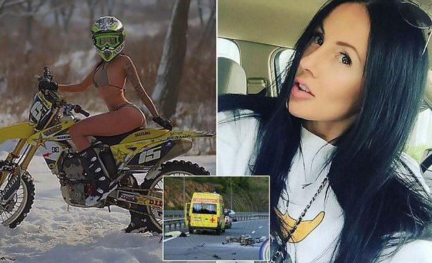 Σκοτώθηκε σε τροχαίο η «κασκαντέρ» που έκανε ακροβατικές πόζες πάνω σε μηχανές (βίντεο)