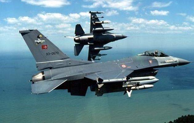 Η Τουρκία παραβίασε 44 φορές το Αιγαίο την Τρίτη