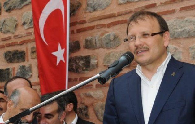 Ο Τούρκος Αντιπρόεδρος απείλησε ότι η χώρα μας θα ανατιναχτεί και δεν θα απομείνει Ελλάδα