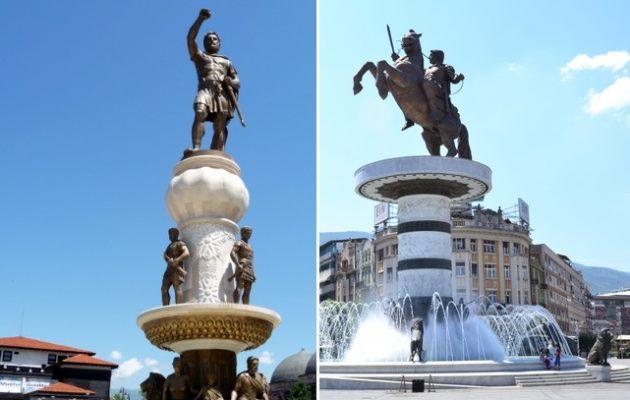 Νίκος Κοτζιάς: «Οι Σκοπιανοί θέλουν να μας χαρίσουν τα αγάλματα – Δεν ξέρω εάν θα τα πάρουμε»