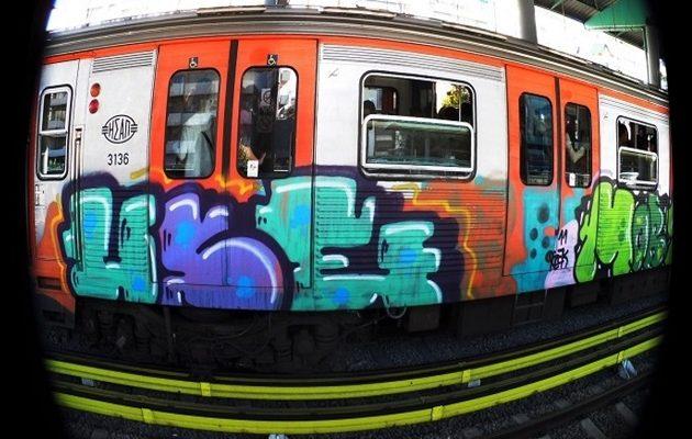 Τραγωδία στον ΗΣΑΠ Θησείου: Έκανε γκράφιτι και πέθανε από ηλεκτροπληξία