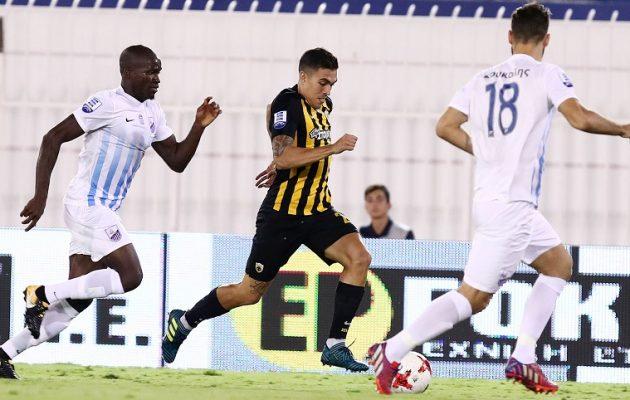 Με «πέτσινο» πέναλτι η ΑΕΚ νίκησε 0-1 τη Λαμία