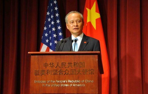 Ο Κινέζος Πρέσβης κάλεσε τις ΗΠΑ να αποφεύγουν τις απειλές στη Βόρεια Κορέα