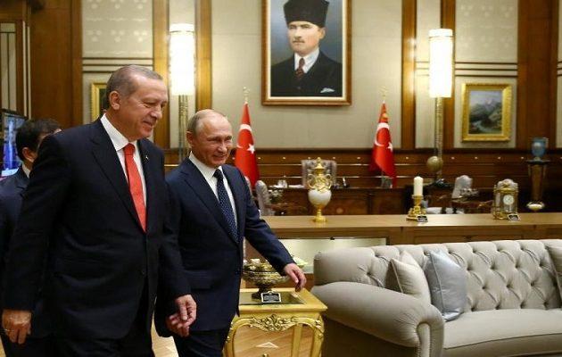 Ο Πούτιν πάει τον Γενάρη στην Τουρκία για να δει τον Ερντογάν