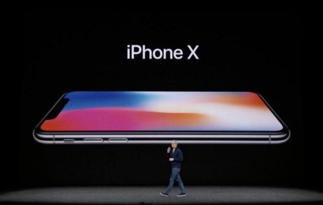 Η Apple αποκάλυψε τα νέα της smartphones iPhone X, iPhone 8, iPhone 8 Plus
