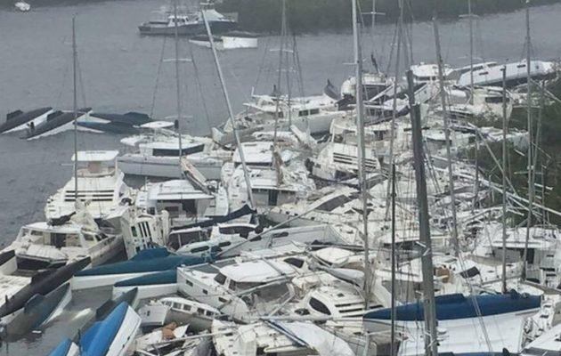 """Ο κυκλώνας Ίρνα """"τσάκισε"""" τα νησιά της Καραϊβικής (βίντεο)"""