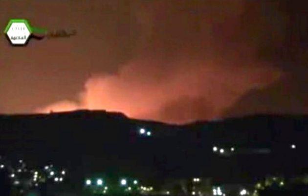 Το Ισραήλ εξαπέλυσε πυραυλική επίθεση σε στρατιωτικούς στόχους στην επαρχία Ταρτούς της Συρίας
