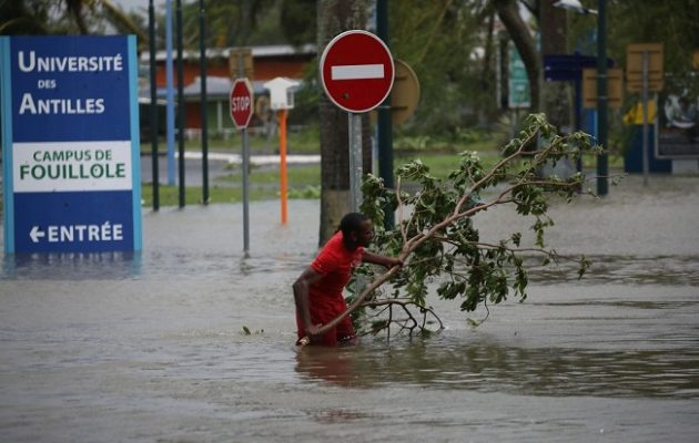 Πλήττει Καραϊβική και απειλεί Πουέρτο Ρίκο ο κυκλώνας Μαρία
