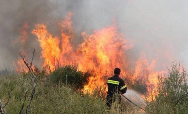 Ποιες περιοχές είναι επικίνδυνες για φωτιά το Σάββατο